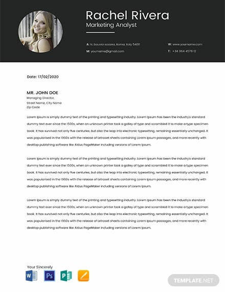 Free Marketing Analyst Resume Template
