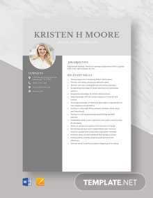 AutoCAD Technician Resume Template