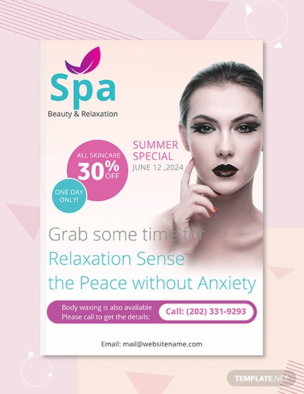 Free Spa eBook Cover Template