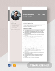 City Attorney Resume Template
