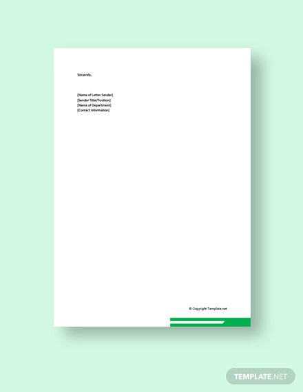 Business Promotion Letter Template