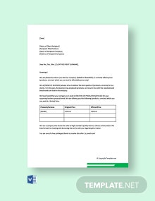 Free Business Promotion Letter