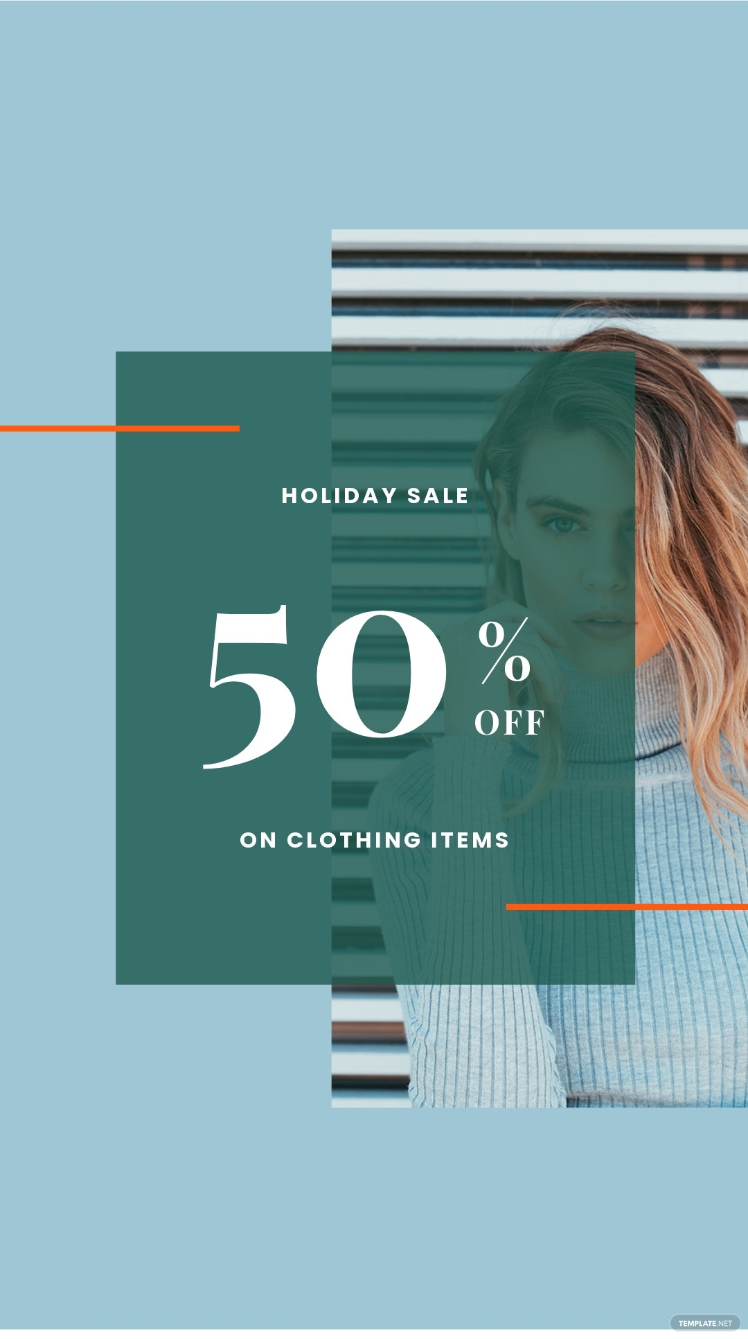 Free Holiday Collection Sale Instagram Story Template