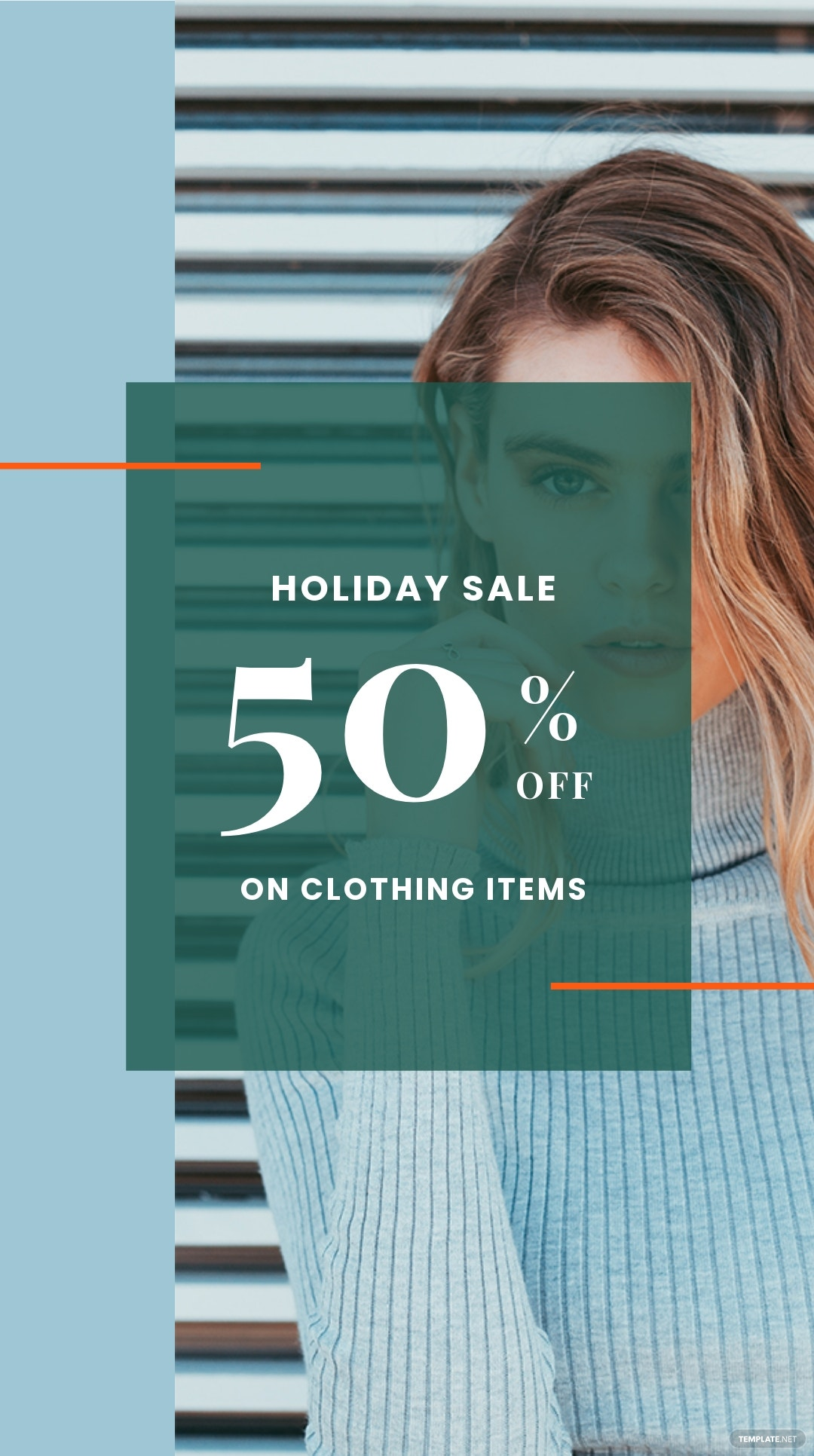 Holiday Collection Sale Instagram Story Template