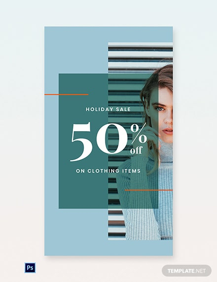 Free Holiday Collection Sale Whatsapp Image Template