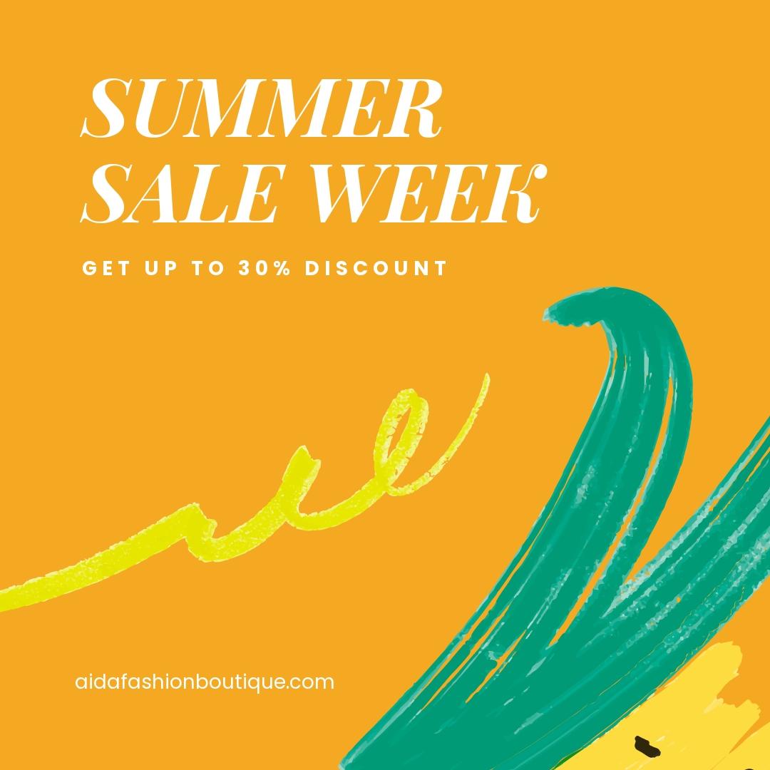 Summer Sale Instagram Post Template.jpe