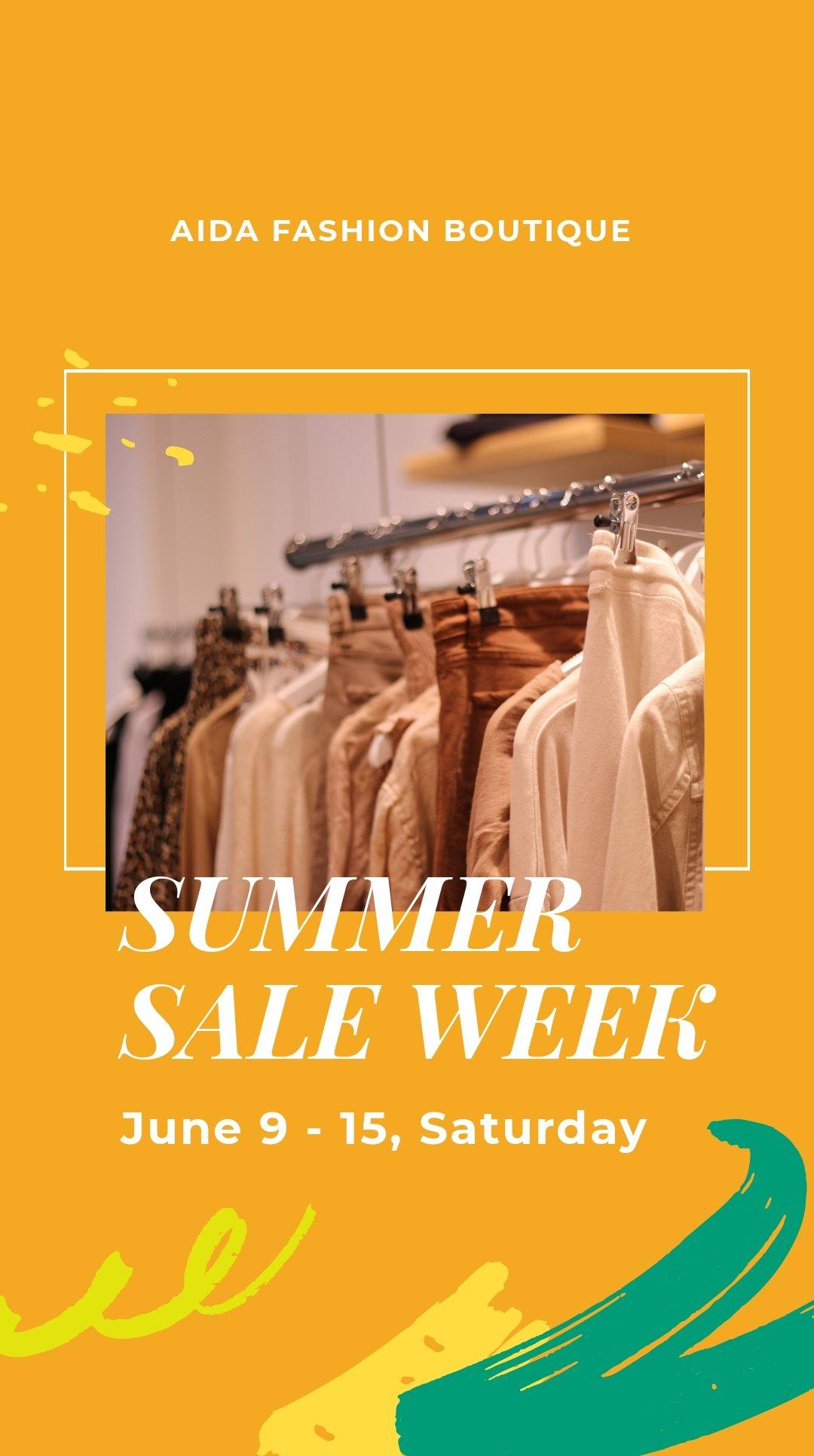 Summer Sale Instagram Story Template.jpe