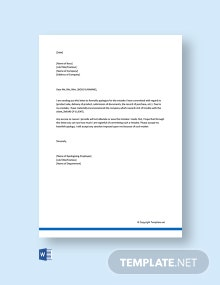 Free Formal Apology Letter To Boss