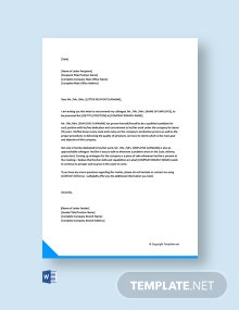 Free Recommendation Letter For Colleague Promotion
