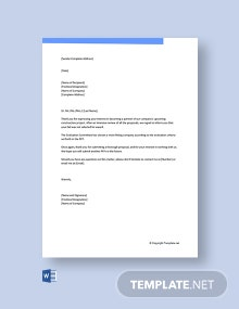 Free RFP Proposal Rejection Letter