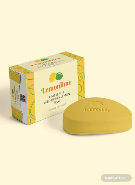Free Soap Label Template