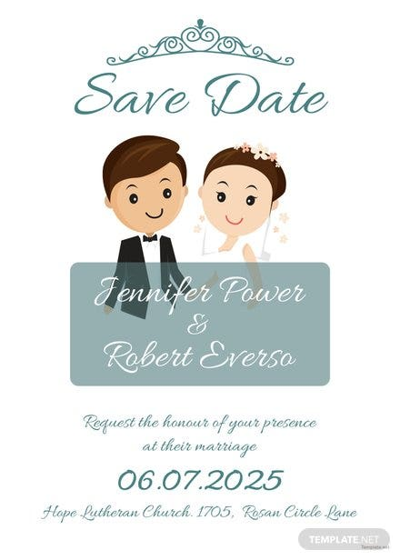 Free Save The Date Invitation Template In Microsoft Word Publisher - Microsoft save the date templates free