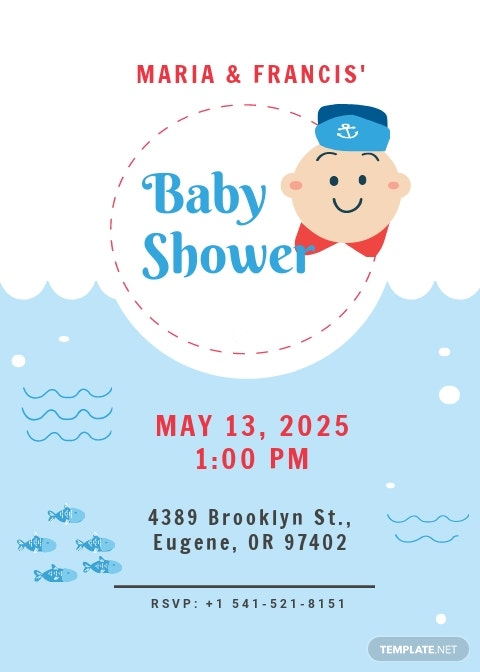 Free Couples Baby Shower Invitation Template.jpe