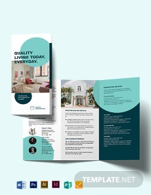 Apartment/Condo Sale Tri-fold Brochure Template