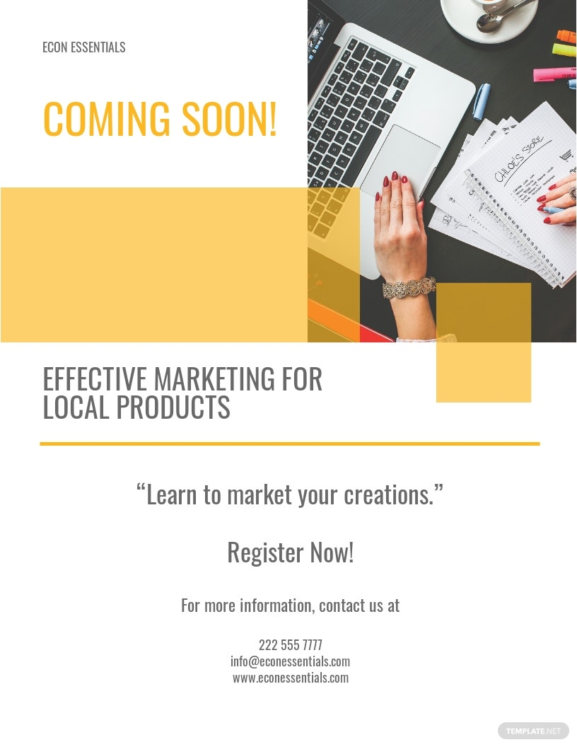 Marketing Event Flyer Template