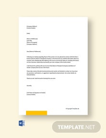 Free Business Plan Cover Letter