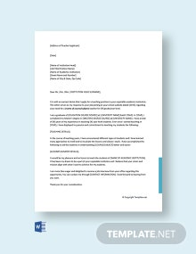 Free Cover Letter For Teacher Job Application