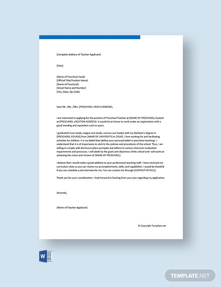 129+ FREE Cover Letter Templates - Word | Google Docs ...
