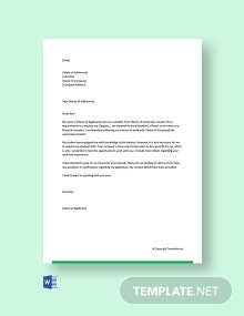 Free Cover Letter for Internship in Finance