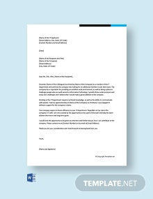 Free Cover Letter for IT Job Fresher