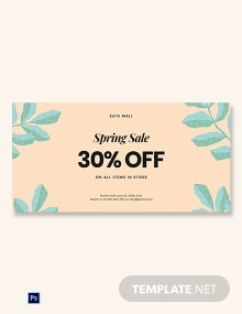 30% Off Holiday Sale Blog Post Template