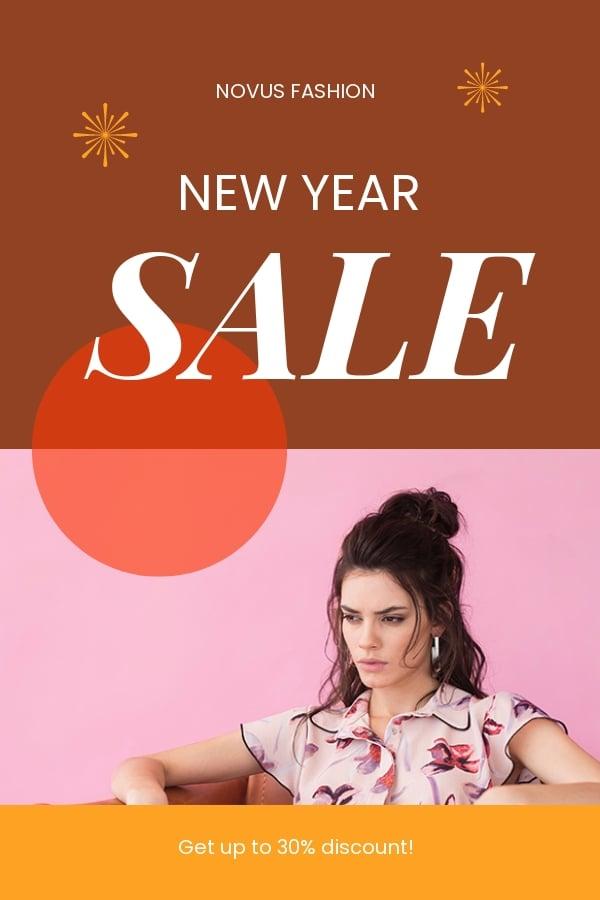 Free New Year Sale Pinterest Pin Template.jpe