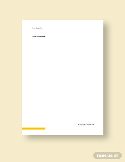 Business Funding Proposal Cover Letter Template