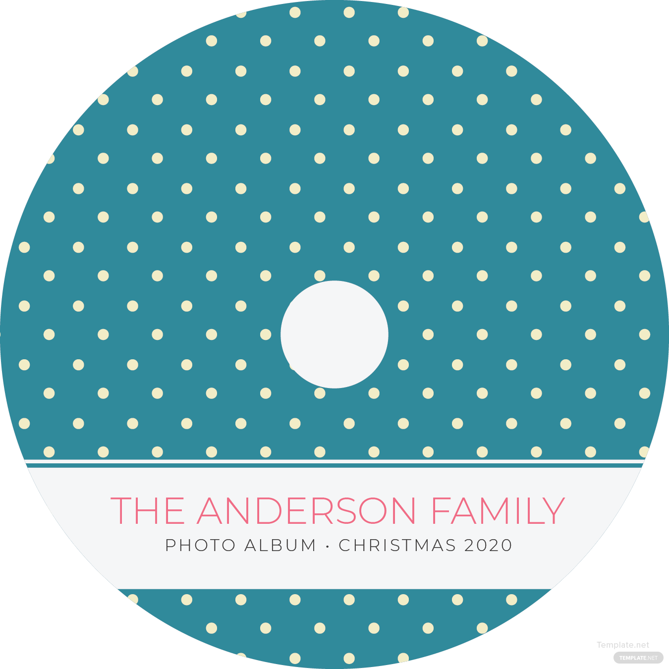dvd label template