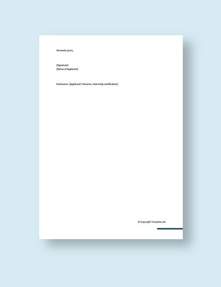 Cover Letter for Software Developer for Fresher Template