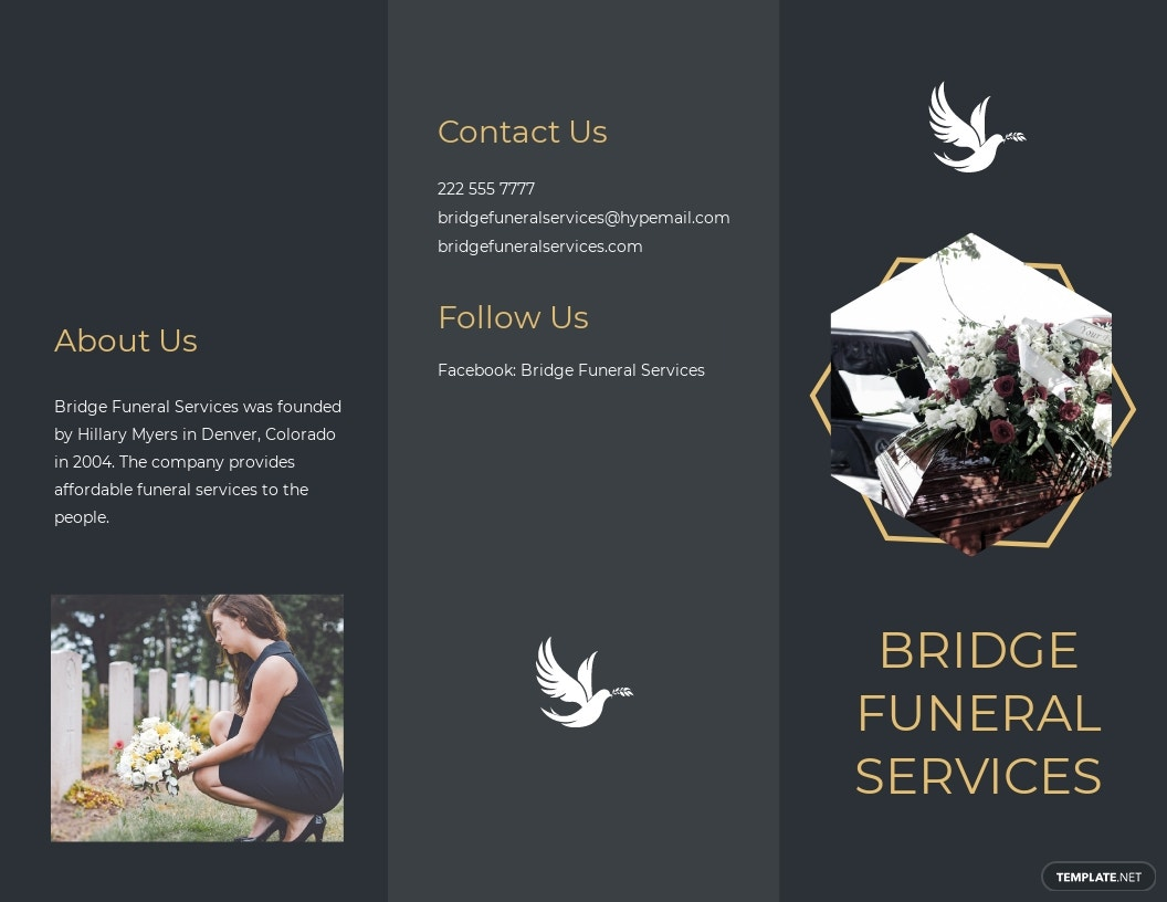 Modern Funeral Service Tri Fold Brochure Template.jpe
