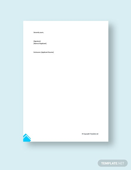 FREE Technical Account Manager Cover Letter Template - Word ...