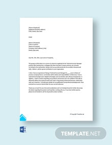 Free Technical Account Manager Cover Letter