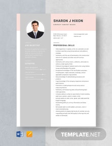 Aircraft Cabinet Maker Resume Template