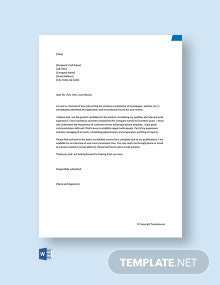 Free Application Letter for Secretary Receptionist