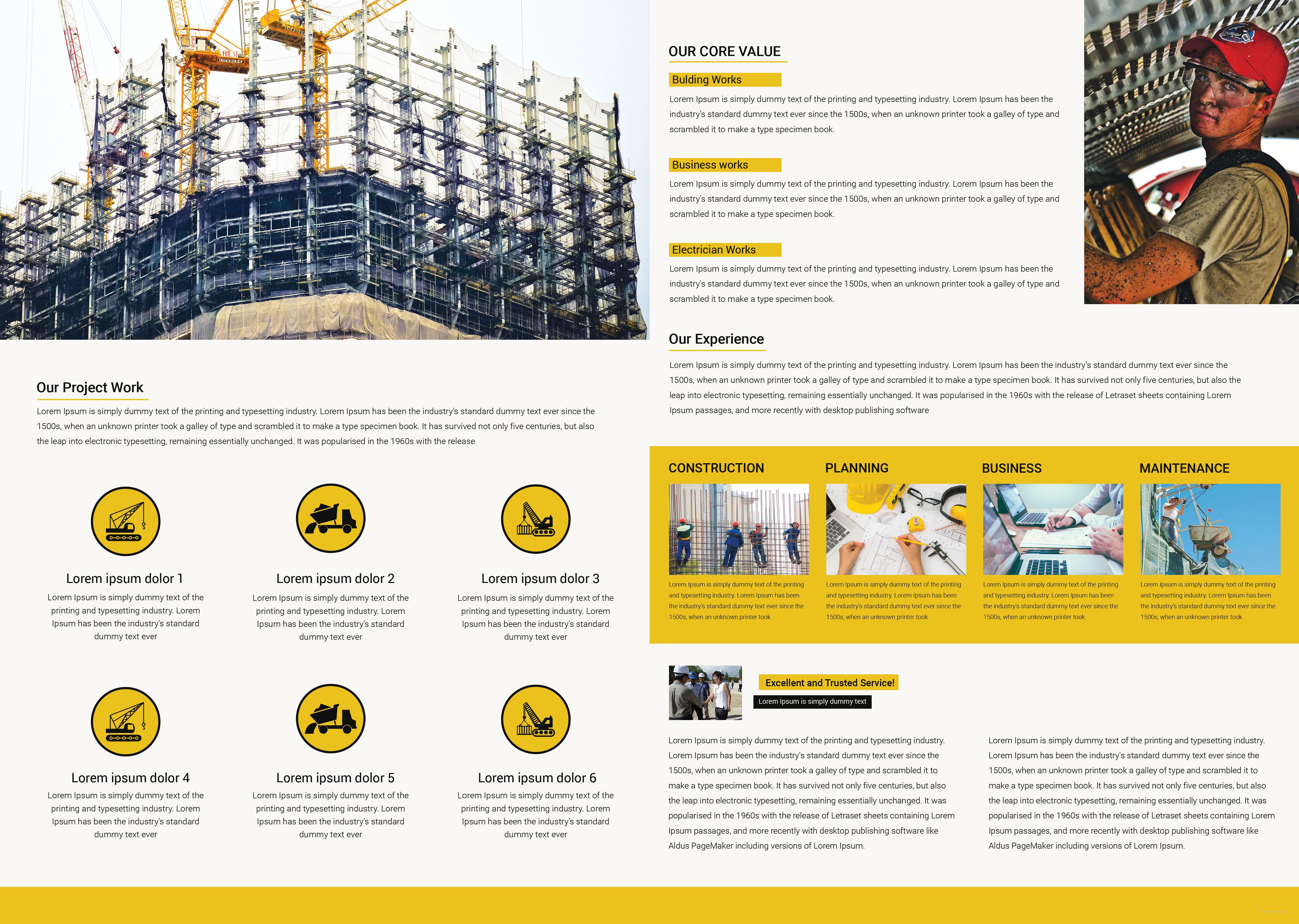 Download Construction Brochure