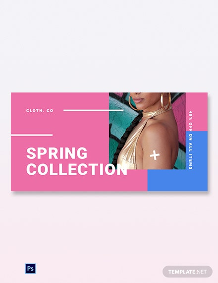 Free Holiday Spring Offer Sale Blog Image Template