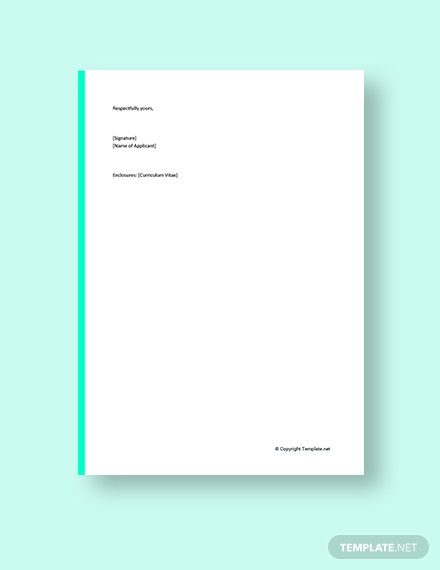 Cover Letter Transition to New Career Template