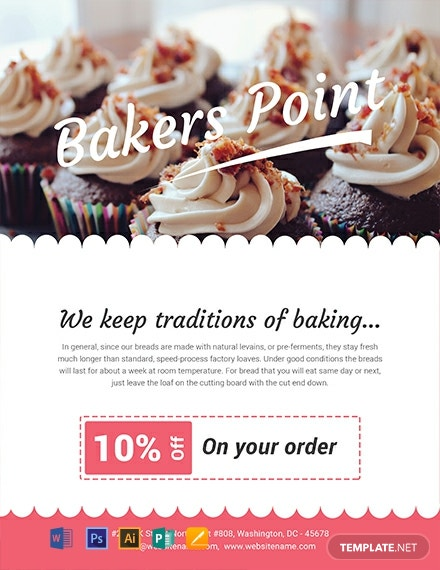Free Baker S Point Flyer Template