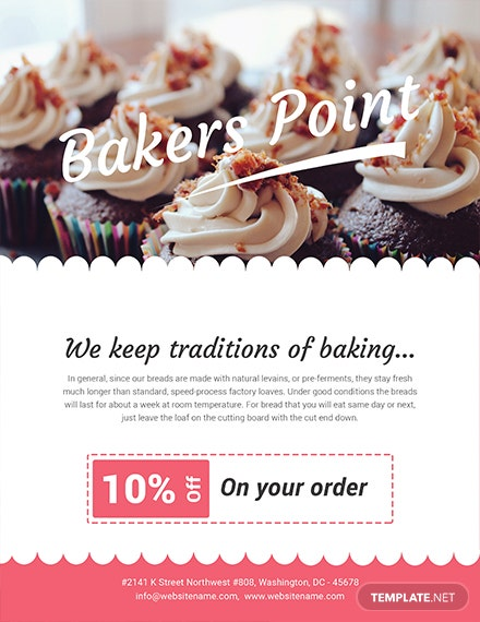 Free Baker's Point Flyer Template