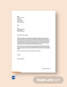 Free Interview Rejection Letter