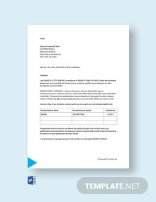Free Small Business Promotion Letter