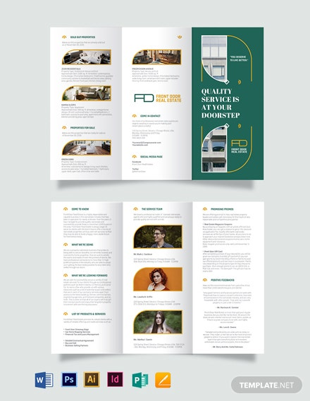 Real Estate Expired Listing Tri-fold Brochure Template