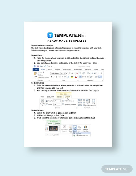 Business Lease Transfer Letter Instructions