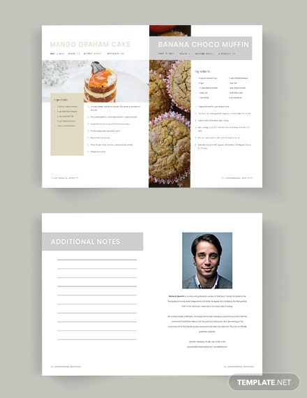 Download Photo Cookbook Template