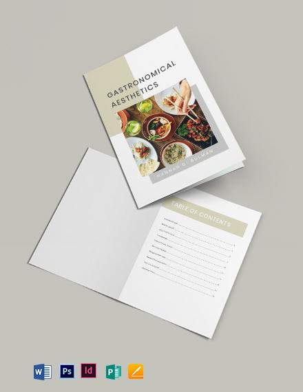 Photo Cookbook Template