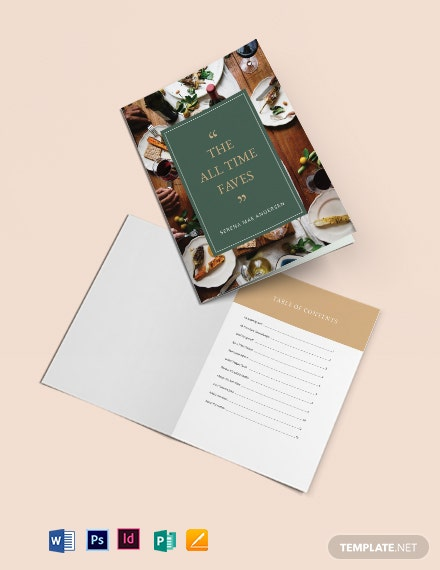 journal cookbook template 1