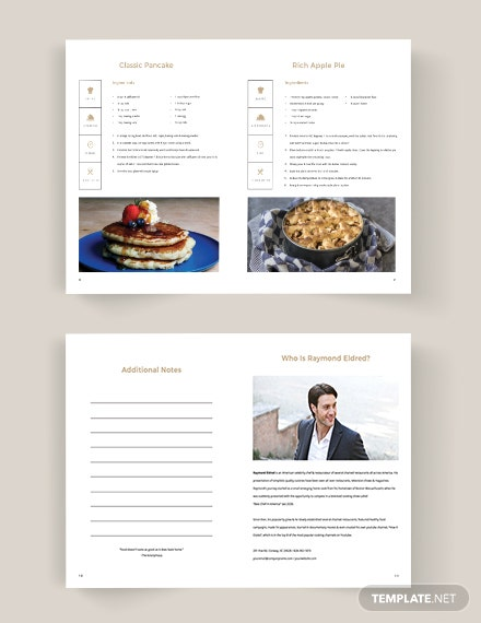 Download Home Made Cookbook Template