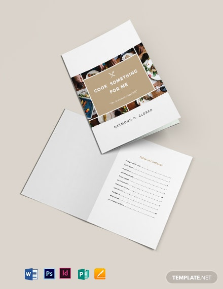 home made cookbook template 1