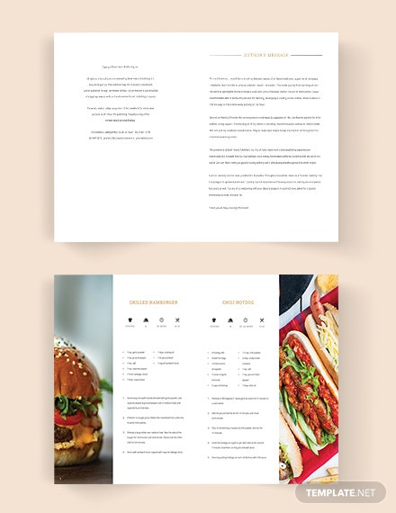 Editable Fundraiser Cookbook Template