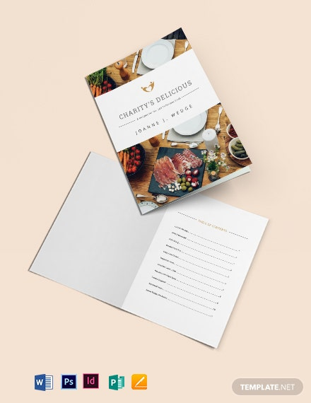 Fundraiser Cookbook Template